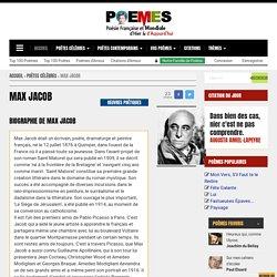 Max Jacob - Poèmes de Max Jacob