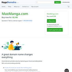 Read Manga,Anime Online, Naruto,Bleach,One Piece-Maxmanga.com