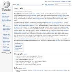 Max Ochs