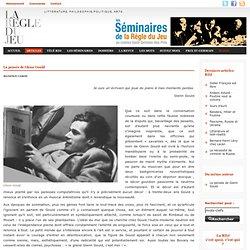 Maxence Caron, La pensée de Glenn Gould