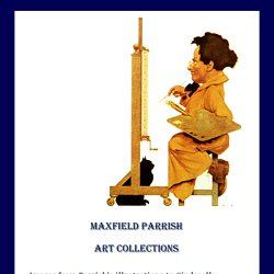 Maxfield Parrish Art and Illustrations