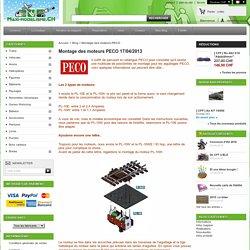 Maxi Modélisme - Montage des moteurs PECO