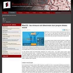 Maxi18 : les mineurs ont désormais leur propre réseau social
