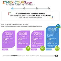 MAXICOURS - Soutien scolaire et réussite pour tous