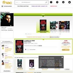 Maxime Chattam – sélection Livre Maxime Chattam et avis Fnac.com