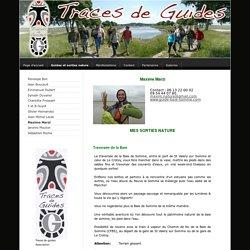 Maxime Marzi - Traces de guides syndicat professionnel des guides nature