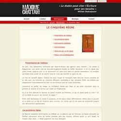 Maxime WILLIAMS - Le cinquième règne