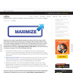 Maximize Sales Leads Generation In Three Ways - Malaysia B2B Lead Generation