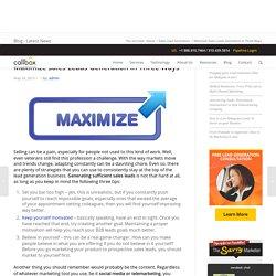 Maximize Sales Leads Generation In Three Ways - B2B Lead Generation Company Malaysia