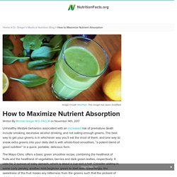 How to Maximize Nutrient Absorption