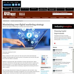 Maximizing your digital marketing strategy - REMI Network