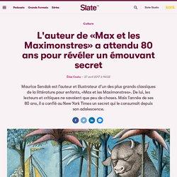 L'auteur de «Max et les Maximonstres» a attendu 80 ans pour révéler un émouvant secret