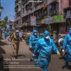 India's 'Maximum City' Engulfed by Coronavirus