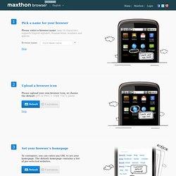 Mobile - Make Your Browser