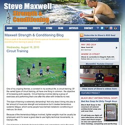 Steve Maxwell Strength & Conditioning