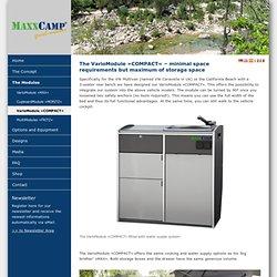 MAXXCAMP - VarioModule »COMPACT«