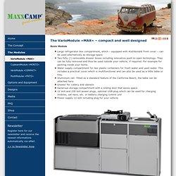 MAXXCAMP - VarioModule »MAX«