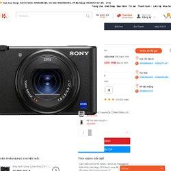 Máy Ảnh Sony ZV-1 giá rẻ, chính hãng, Trả Góp 0% tại Kyma