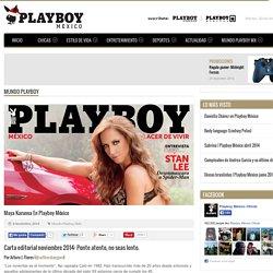 Maya Karunna en Playboy