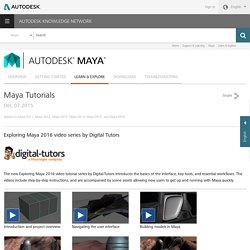 Maya Tutorials