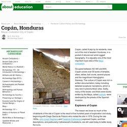 Mayan Civilization City of Copan, Honduras