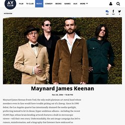 Maynard James Keenan | Music | Interview