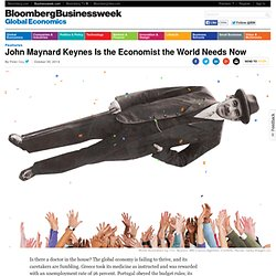 Why John Maynard Keynes's Theories Can Fix the World Economy