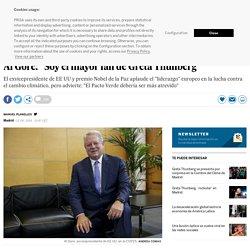 """Al Gore: """"Soy el mayor fan de Greta Thunberg"""""""