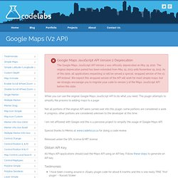 Shawn Mayzes - Google Maps jQuery Plugin