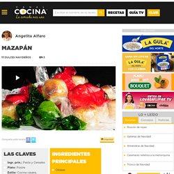 Mazapán - Angelita Alfaro - Video receta - Canal Cocina
