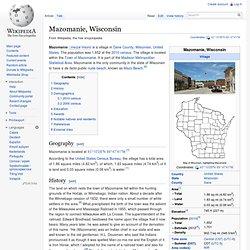 Mazomanie, Wisconsin