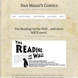 Dan Mazur's Comics – Page 10 – Comics I Made, Comics I'm Working On, Comics I Like, etc.