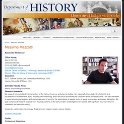 Department of History, University of California Berkeley