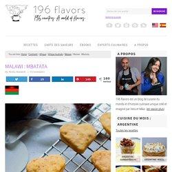 Mbatata : biscuits à la patate douce du Malawi