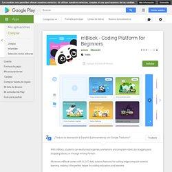 mBlock - Coding Platform for Beginners - Apps en GooglePlay