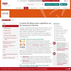 MBTI ®–Myers-Briggs Type Indicator d'OPP