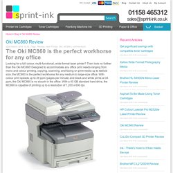 The Oki MC860 - The perfect workhorse for any office
