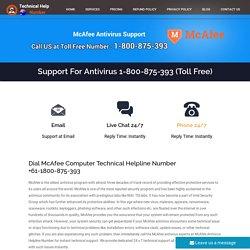McAfee Help Number Australia 1800-875-393 McAfee Australia