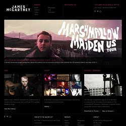 James McCartney.com | The Official Website of James McCartney - Musician and Songwriter