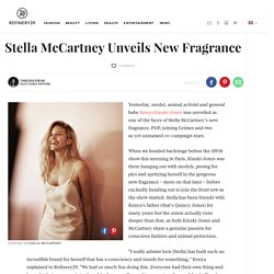 Stella McCartney Unveils New Fragrance POP At AW16 Show
