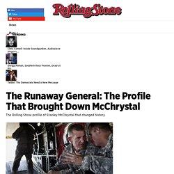 General McChrystal Story by Michael Hastings Inspired 'War Machine,' Starring Brad Pitt - Rolling Stone