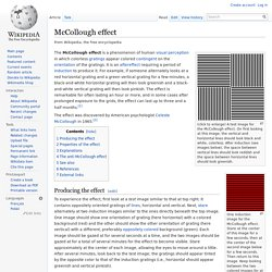 McCollough effect