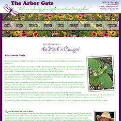 Ann McCormick Herb 'n Cowgirl Pick of the Month