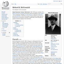 Robert R. McCormick