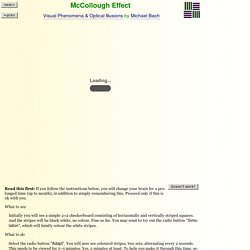McCullough Effect