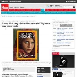 Steve McCurryrévèle l'histoire de l'Afghane aux yeux verts