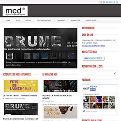 Digital MCD » MCD #62 L'EUROPE DES MEDIA LABS / MEDIA LABS IN EUROPE