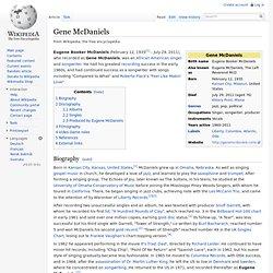 Gene McDaniels