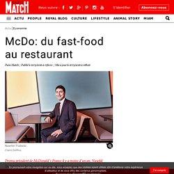 McDo: du fast-food au restaurant