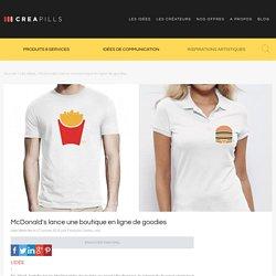 McDonald's lance une boutique en ligne de goodies